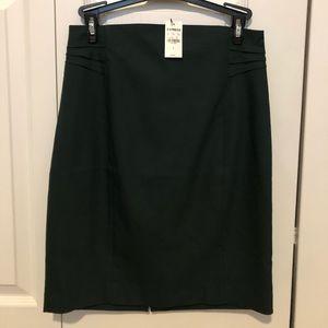 NWT Express Pencil Skirt Green Size 4